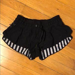 Lululemon reversible shorts -size 4